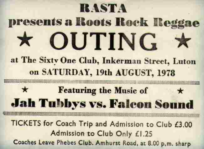 Jah Tubbys Goes To Luton 1978