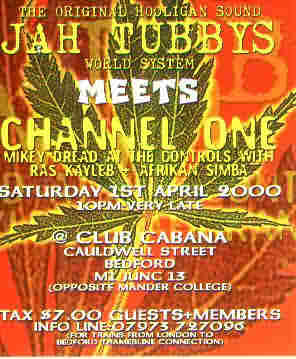 Jah Tubbys meets Channel 1