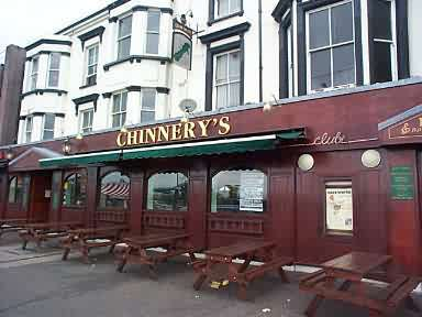 OutSide Chinnerys Club Southend.........